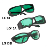 LG13 Blue Lens: 39% Visible Light Transmission