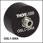 SMA Fiber Bundle Adapter for the Former OSL1 Fiber Light Source