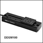 100 mm Linear Translation Stage, Direct-Drive Servo Motor