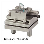 Adjustable Non-Polarizing Plate Beamsplitter Modules, 4:96