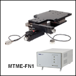 Motorized Microscope Translator with Encoder