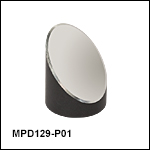 Ø1in 90° Off-Axis Parabolic Mirrors, Protected Silver Coating