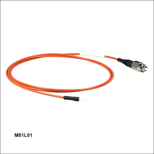 Multimode Fc Pc Fiber Optic Patch Cables With Ferrule Ends