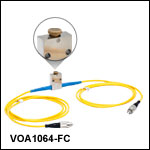 Narrowband, Single Mode Variable Optical Attenuators