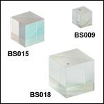 50:50 (R:T) Cube Beamsplitters