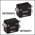 Fiber-Coupled Si Detectors: 400 - 1100 nm