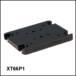 Vertical Mounting Plate for 34 mm and 66 mm Optical Rails