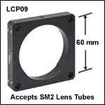 60 mm Cage Plate with Ø2.2in Bore