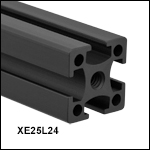 XE25 25 mm Construction Rails