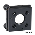 30 mm Cage-Compatible SM1-Threaded Kinematic Mount