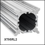 XT95 95 mm Construction Rail, Raw  Extrusion