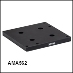 Flexure Stage Accessories: Cross Platform Mounting Plates