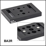 Magnetic Vertical Mounting Base for 34 mm Rails