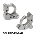 Polaris<sup>®</sup> Ø1in Kinematic Mirror Mount, 2 Adjusters, Flexure Spring Optic Retention