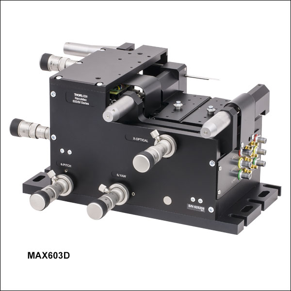 6 Axis Nanomax Nanopositioning Flexure Stages