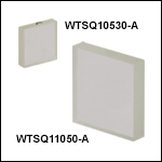 Conductive Windows, AR Coating: 350 - 700 nm