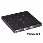 Switchable Magnetic Base: 4.4in x 4.4in (112 mm x 112 mm)