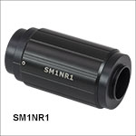 Zoom Housing for Ø1in Optics and SM1 Lens Tubes, 2in (50.8 mm) Travel