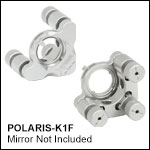 Ø1in Polaris Low-Distortion Kinematic Mount, 3 Adjusters