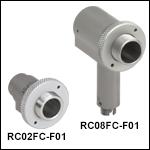 FC/PC-Connectorized UV-Enhanced Aluminum Reflective Collimators