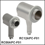 FC/APC-Connectorized UV-Enhanced Aluminum Reflective Collimators
