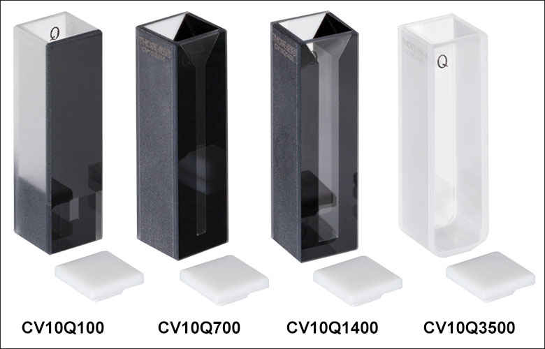 uv fused quartz cuvettes