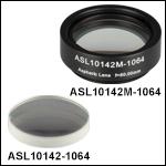 High-Precision, CNC Polished Aspheric Lenses, 1064 nm V Coating