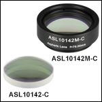 High-Precision, CNC Polished Aspheric Lenses, AR Coated: 1050 - 1700 nm