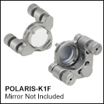 Ø1in Polaris Low-Distortion Kinematic Mounts, 2 Adjusters