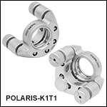 Ø1in Polaris<sup>®</sup> SM1-Threaded Kinematic Mirror Mounts, 2 Adjusters