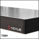 1 m x 2 m x 210 mm (3' x 6' x 8.3in) Nexus Optical Tables