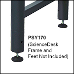 ScienceDesk Frame Risers