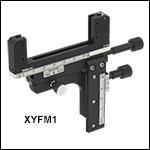 XY Translation Mount for Rectangular Optics