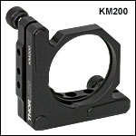 Ø2in Kinematic Mount for Optics at Least 0.16in (4 mm) Thick