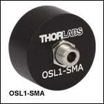 SMA Fiber Bundle Adapter for OSL2 and Former OSL1 Fiber Light Source