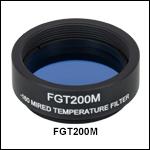 Mounted Temperature-Balancing Filter, -160 mireds