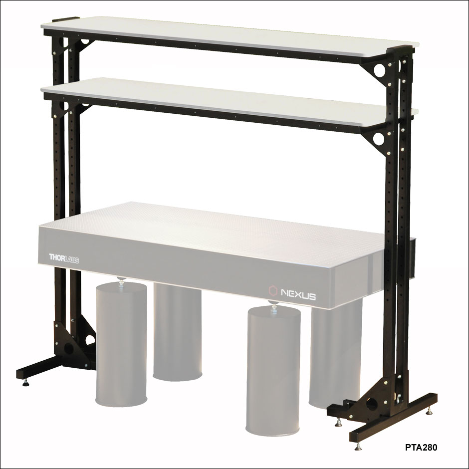 Superieur Free Standing Optical Table Shelves. Zoom