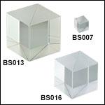 50:50 Cube Beamsplitters