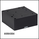 62.5 mm to 112.5 mm Height Adapter for 3-Axis and 4-Axis NanoMax™ and MicroBlock™ Stages