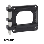 Cylindrical Lens Mount for 60 mm Cage Systems<br>