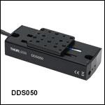50 mm Linear Translation Stage, DC Direct-Drive Servo Motor