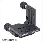 Kinematic Mount for Wavefront Sensors