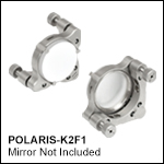 Ø2in Polaris Low-Distortion Kinematic Mount, 2 Adjusters