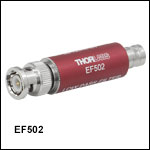 Low-Pass Electrical Filters, Coaxial, 100 kHz to 15 MHz
