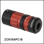 FC/APC-Terminated Zoom Fiber Collimators