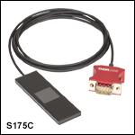 High-Power Microscope Slide Power Meter Sensor Head
