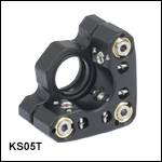 Ø1/2in SM-Threaded Precision Kinematic Mirror Mounts