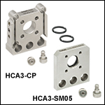 FiberBench Wall Plates: Cage System Adapters