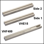 Fiber Holder Bottom Inserts - Two Required for Single Fiber Processing