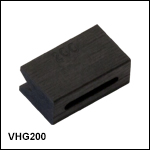 Graphite V-Groove Inserts for Splicing Unit - Two Required